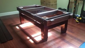 Pool and billiard table set ups and installations in Lakeland Florida